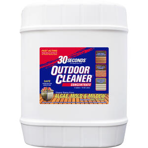 30 SECONDS  Outdoor Cleaner Concentrate  5 gal.
