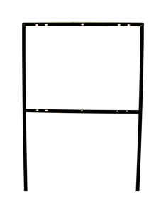 Hy-Ko  English  41-1/4 in. H x 24-1/2 in. W x 25.5 in. H x 41.5 in. W Sign Frame  N/A  Steel