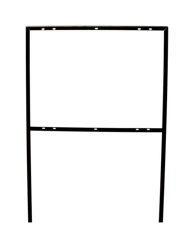 Hy-Ko  English  Sign Frame  Metal  41.5 in. H x 25.5 in. W