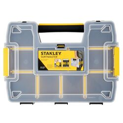 Stanley SortMaster 11.5 in. L x 8.5 in. W x 2.9 in. H Storage Organizer Plastic 8 compartments B