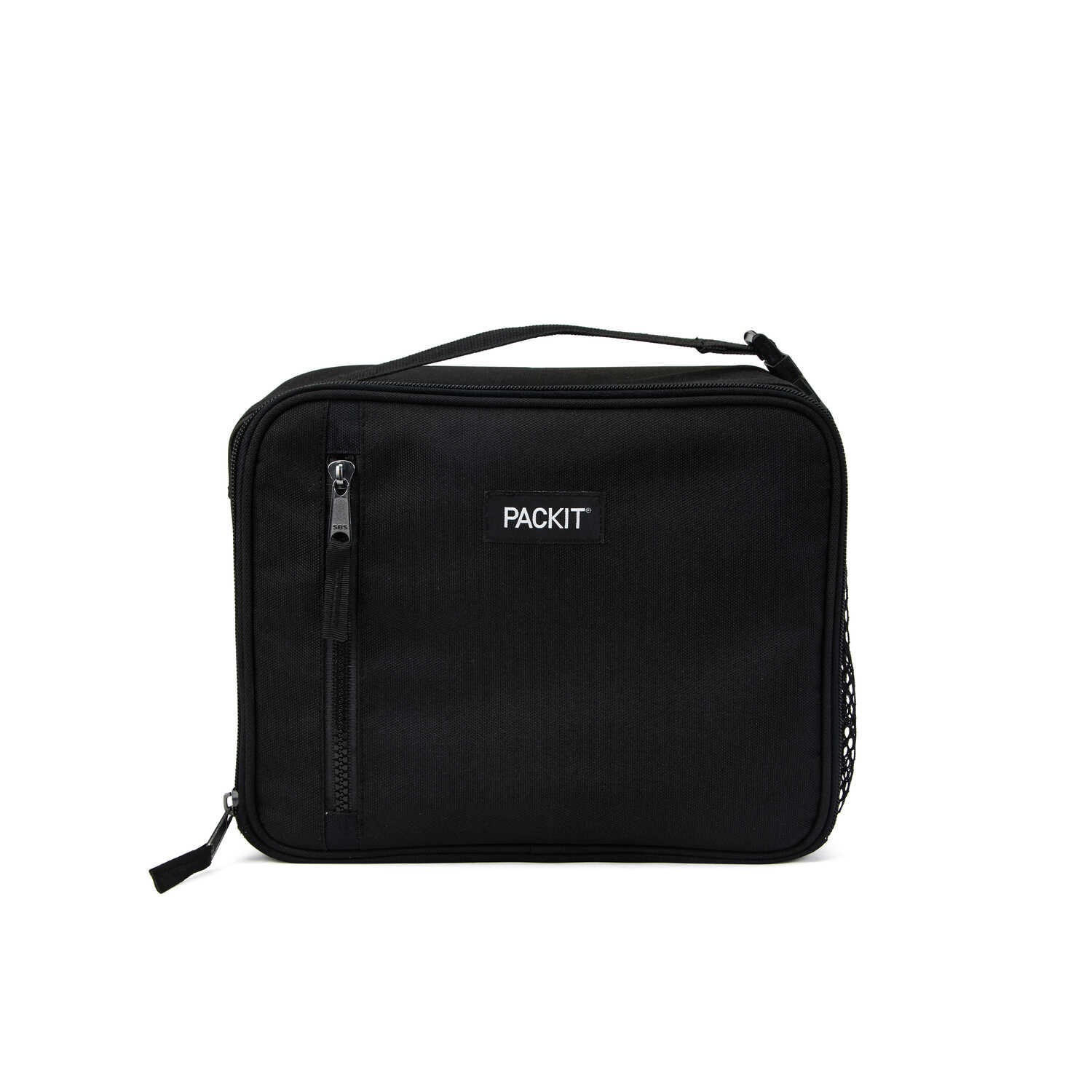 PACKIT  Lunch Bag Cooler  Black  1 pk