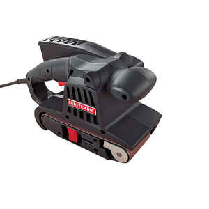 Craftsman  18 in. L x 3 in. W Corded  Belt Sander  6 amps 16 FPM