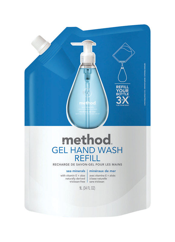 Method 34 oz. Gel Hand Wash Sea Mineral Scent Refill