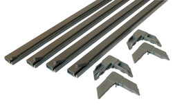 Prime-Line  Bronze  Aluminum  5/16 in. W x 3/4 in. L Screen Frame Kit  1 pk