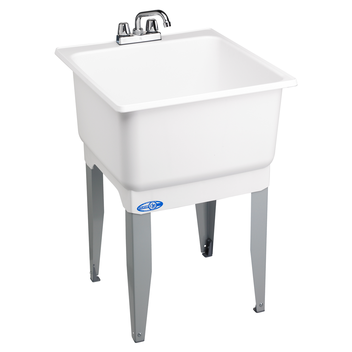 Utilatub Tub Laundry and Utility 23 in. x 25 in. x 33 in. 20 gal ...