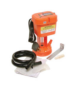 Dial  Power Clean  10 in. H x 5-13/16 in. W Plastic  Evaporative Cooler Pump  Orange