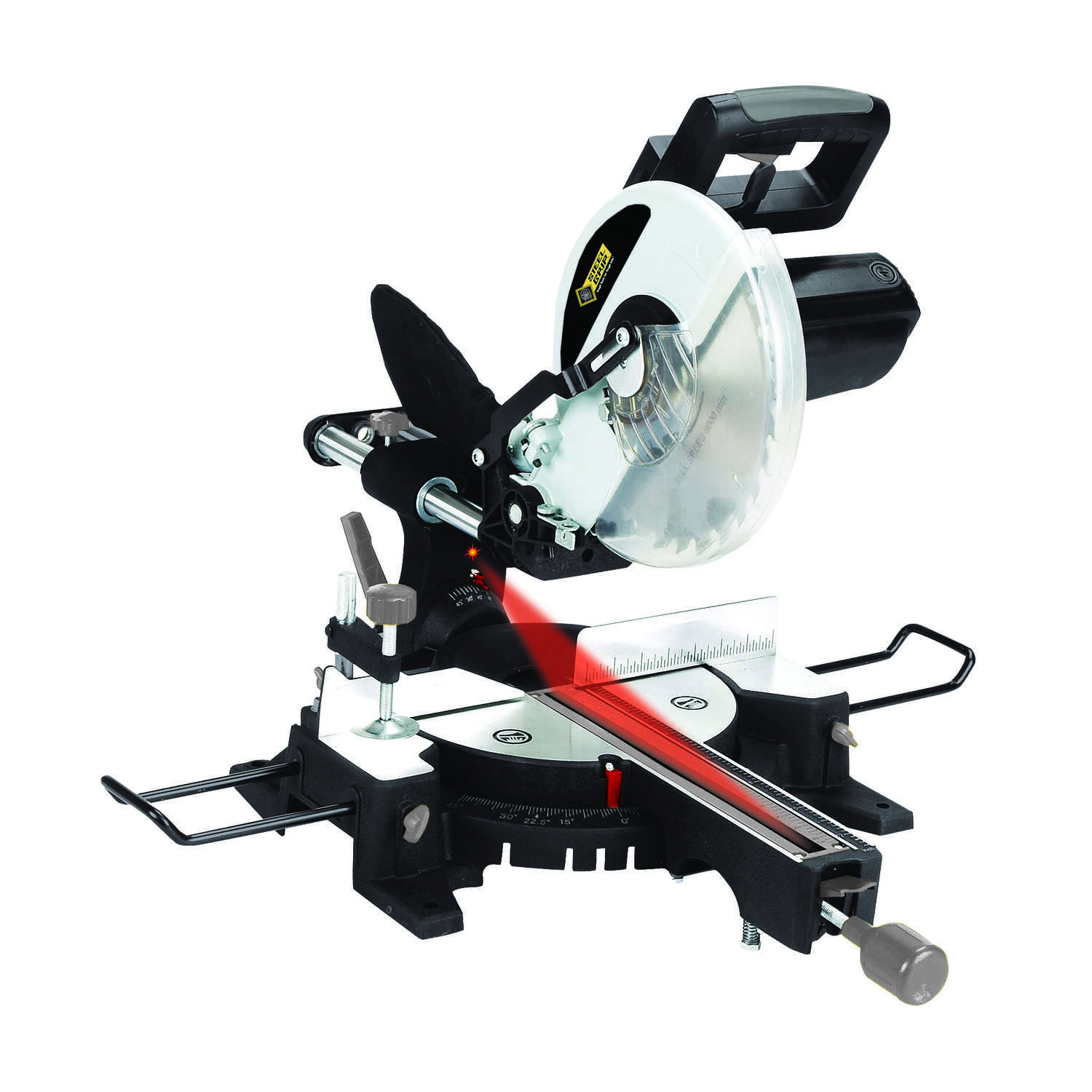 Steel Grip  10 in. Compound Miter Saw  15 amps Corded  5,300 rpm
