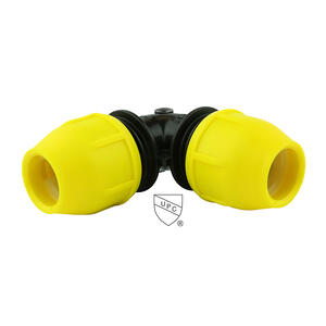 Home-Flex  Underground  1 in. IPS   x 1 in. Dia. IPS  Poly  Elbow