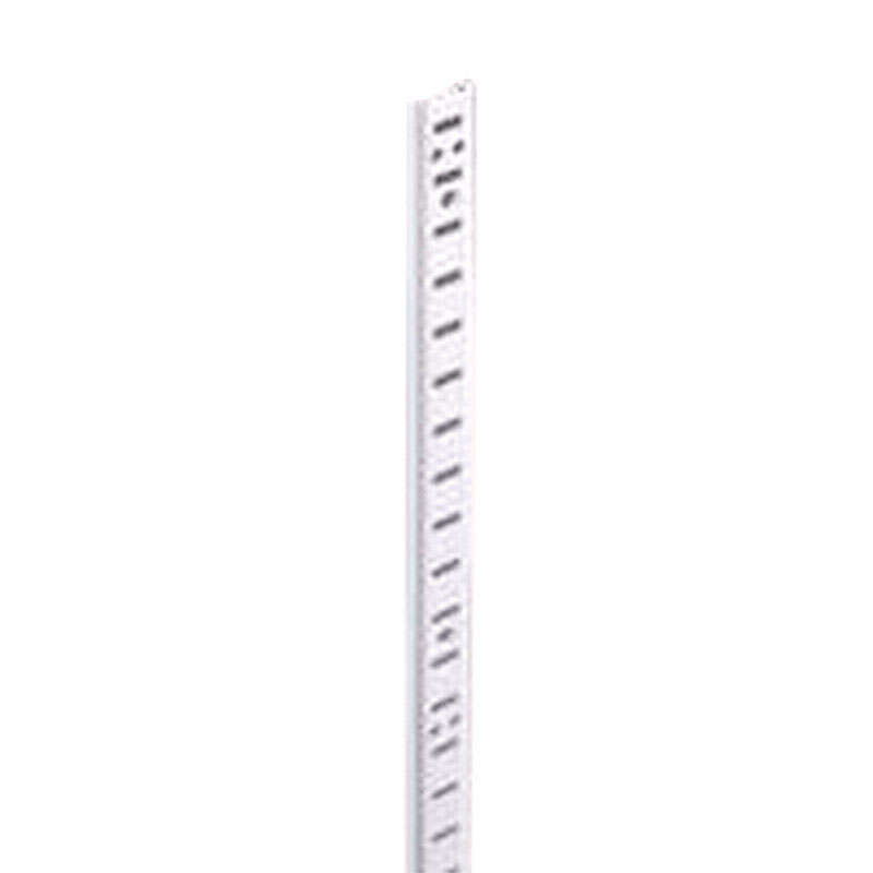 Knape & Vogt  Steel  Heavy Duty Shelf  Pilaster  23 Ga. 24 in. L 250 lb.