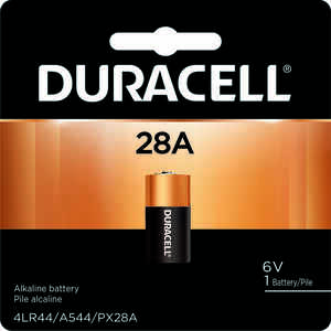 Duracell  Alkaline  28A  6 volt Medical Battery  PX28ABPK  1 pk