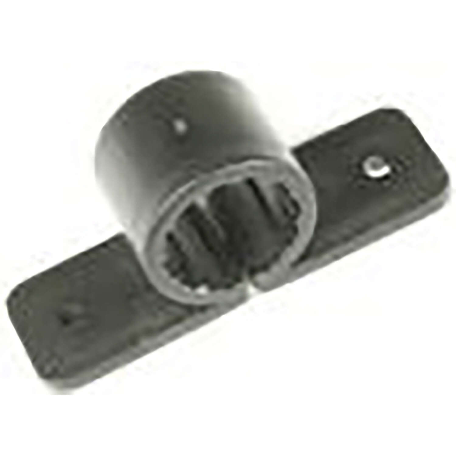Warwick Hanger  1 in. Black  Polypropylene  Pipe Clamps