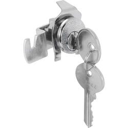 Prime-Line  Chrome  Steel  Mailbox Lock