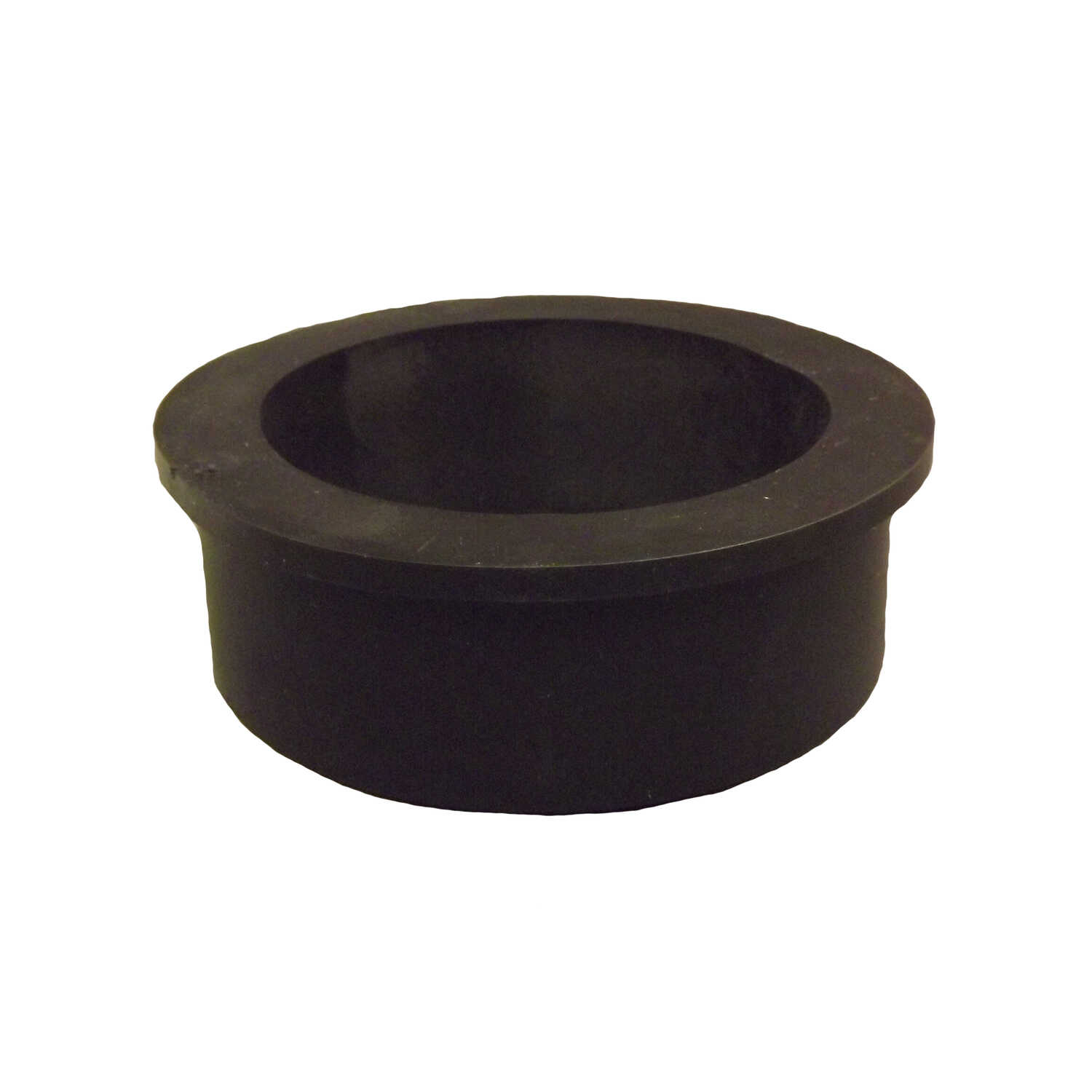 Fernco  Schedule 40  4 in. Compression   x 4 in. Dia. Hub  PVC  Bushing