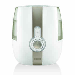 HoMedics  Total Comfort  1.4 gal. 400 sq. ft. Manual  Ultrasonic Humidifier