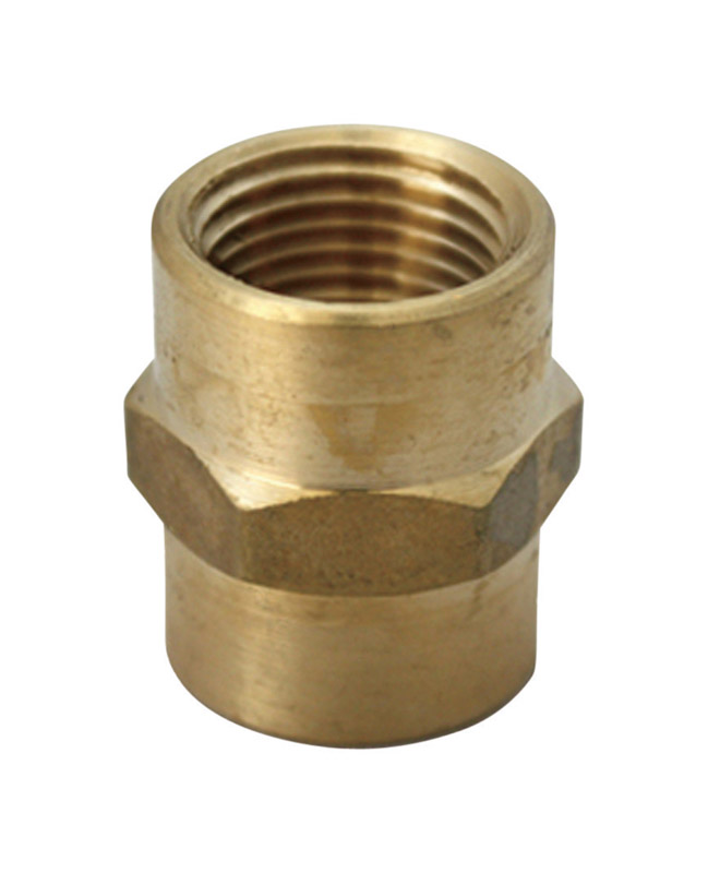 JMF  3/4 in. FPT  Dia. x 3/4 in. FPT  Dia. Brass  Compression Coupling