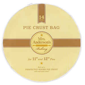 Mrs. Anderson's  Baking  14 in. L Pie Crust Bag  White