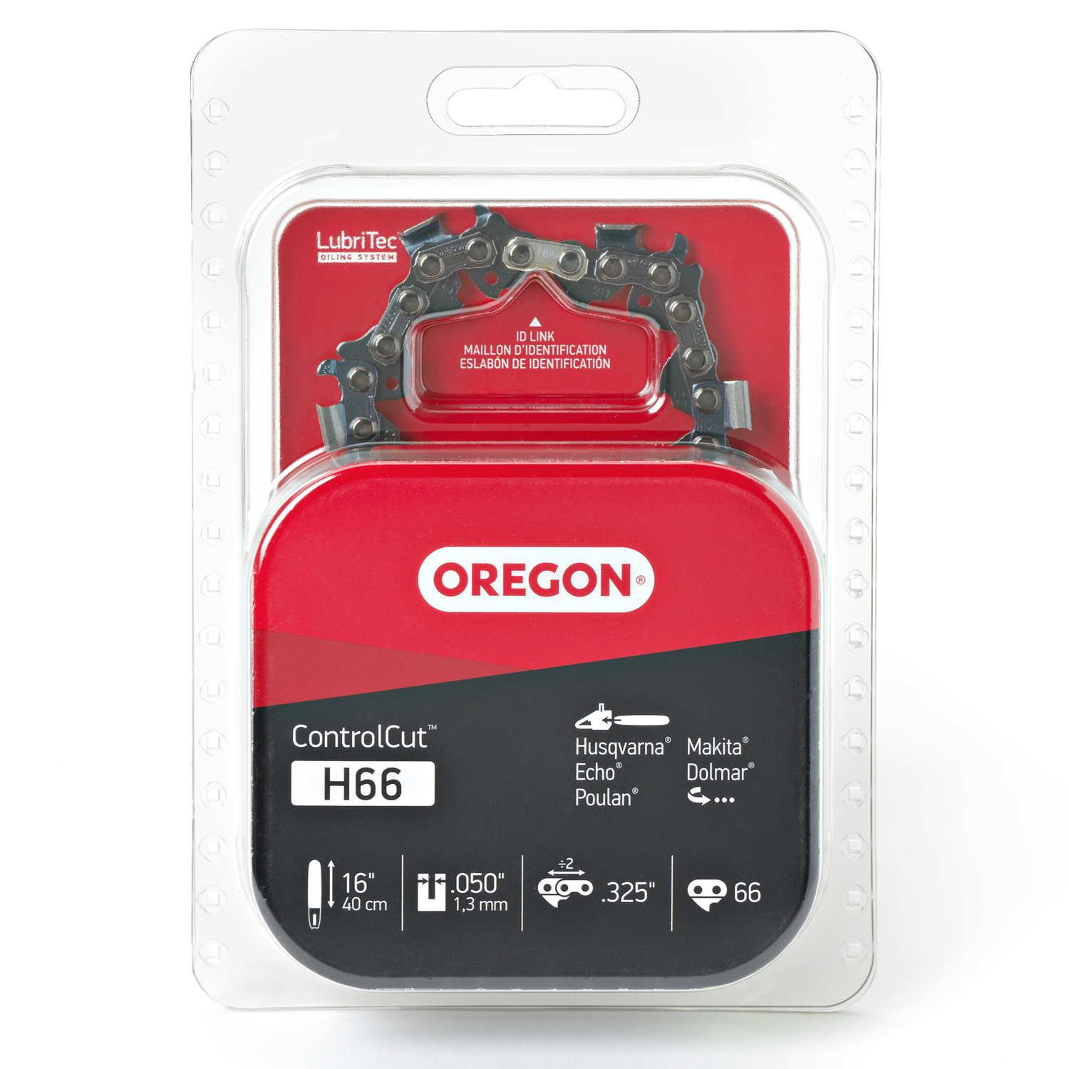 Oregon  16 in. L 66 links Chainsaw Chain