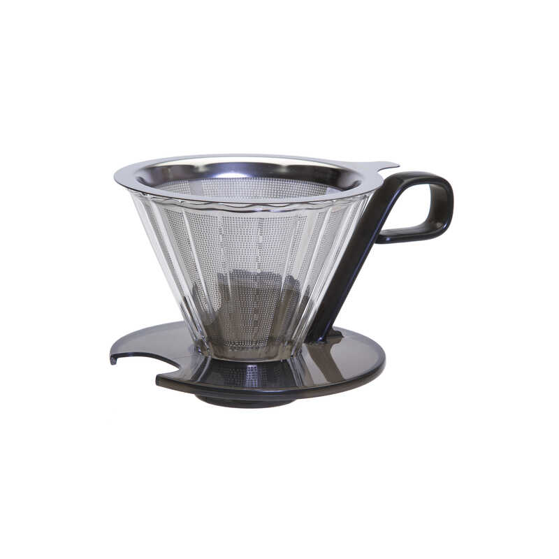Primula  Seneca  1 cups Clear/White  Pour-Over Coffee Brewer