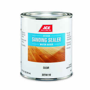 Ace  Smooth  Sanding Sealer  Water-Based  Clear  1 qt.