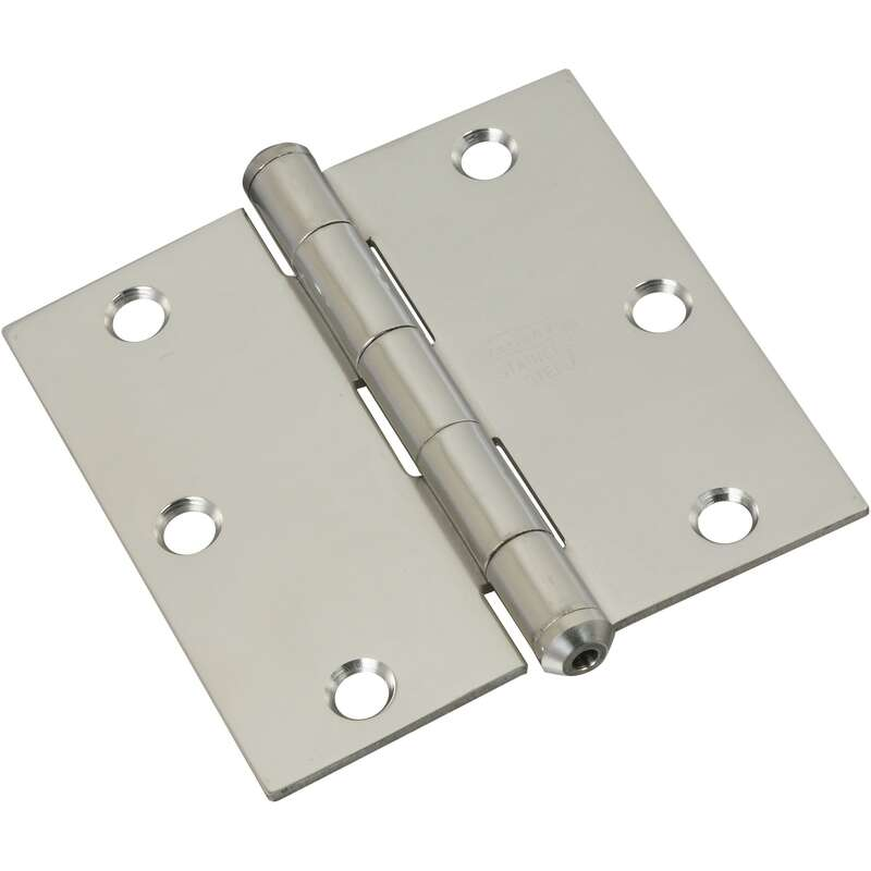 National Hardware  3 in. L Door Hinge  1 pk