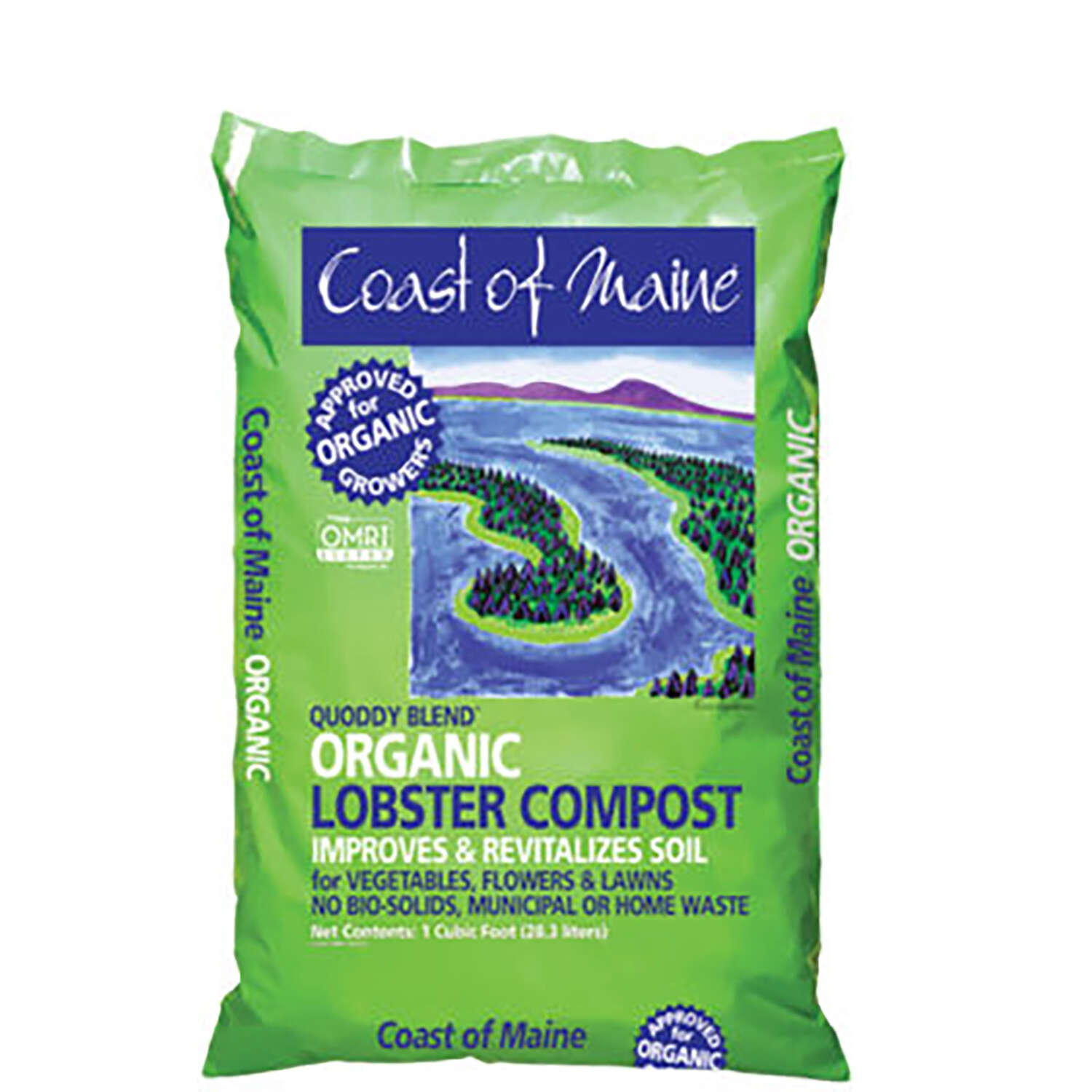 Coast of Maine  Quoddy Blend  Organic Soil Conditioner
