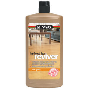 Minwax  Low Gloss  Hardwood Floor Reviver  Liquid  32 oz.