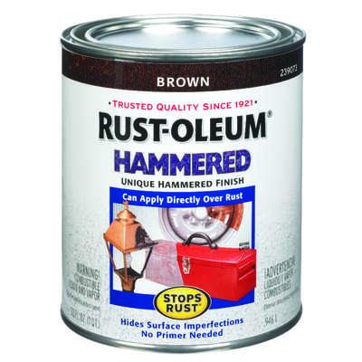 Rust Oleum Stops Hammered Brown