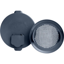 Traeger  Plastic  Pellet Bucket Lid and Filter  Fits Traeger Steel Pellet Bucket BAC430 Ace 8838096
