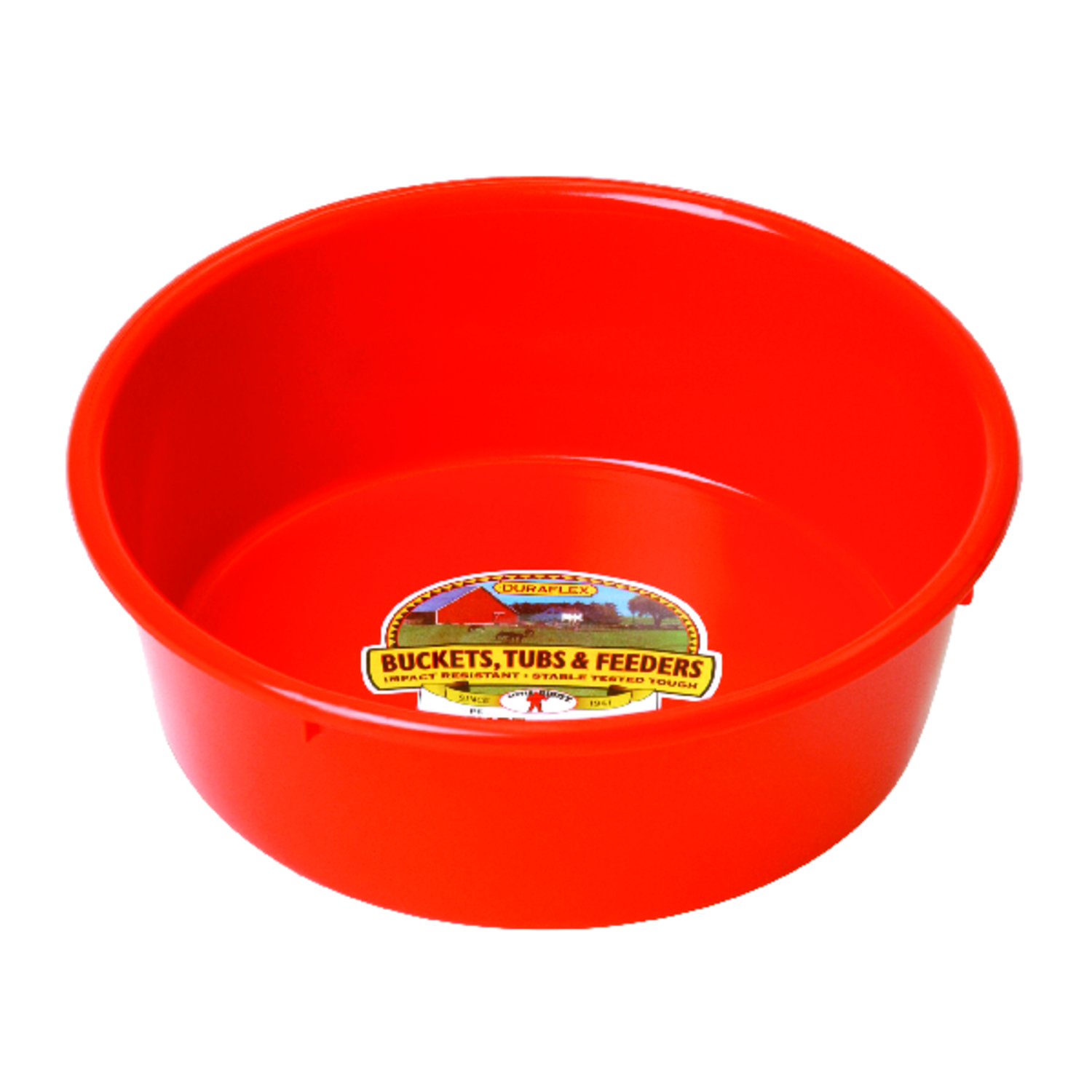 Miller  Little Giant  160 oz. Feeder Pan  For Livestock 11-1/2 in. D