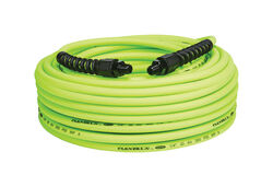 Flexzilla  Pro  100 ft. L x 1/4 in. Dia. Hybrid Polymer  Air Hose  300 psi Zilla Green