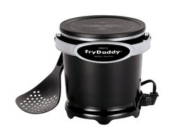 Presto Black 4 cup Deep Fryer