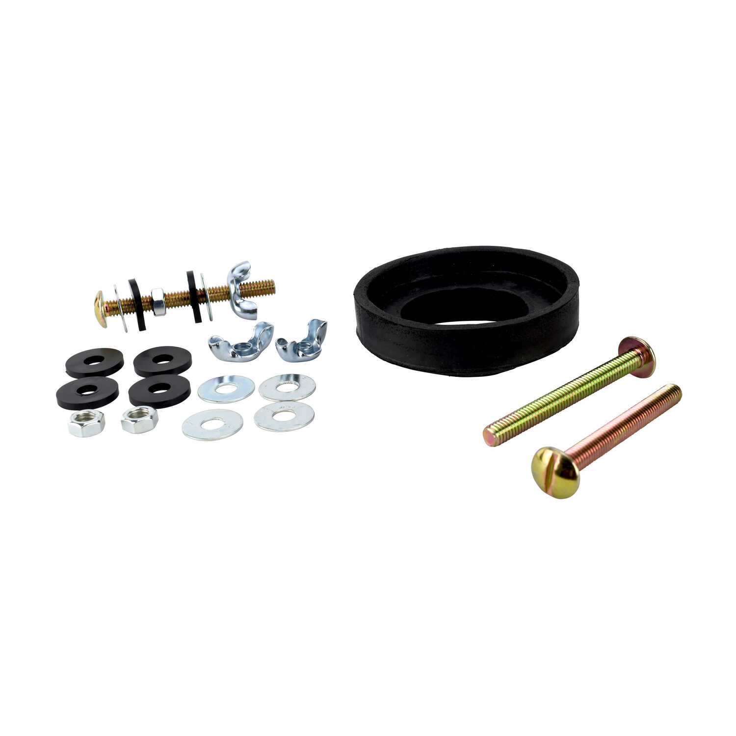 Ace  Tank to Bowl Kit  3-1/2 in. H x 2-1/8 in. L Rubber