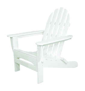 Ivy Terrace  White  Polypropylene  Chair