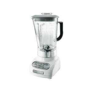 KitchenAid  Classic  White  Die Cast Metal  Blender  White  5 speed 56 oz. White