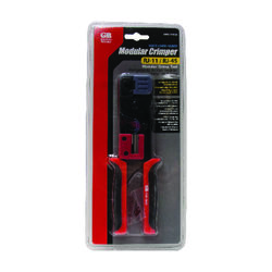 Gardner Bender  2.25 in. Telephone Crimp Modular Plug Tool  Black/Red  1 pk
