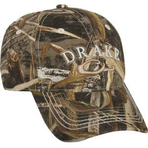 Drake  Raised Logo  Cap  Realtree Max-5  One Size Fits All
