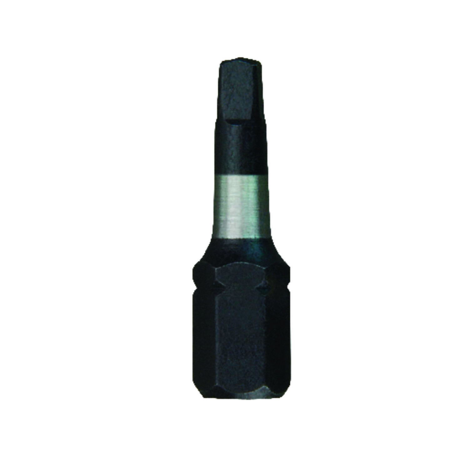 Milwaukee  SHOCKWAVE  Square  #2   x 1 in. L Impact Duty  Screwdriver Bit  Steel  1/4 in. Hex Shank
