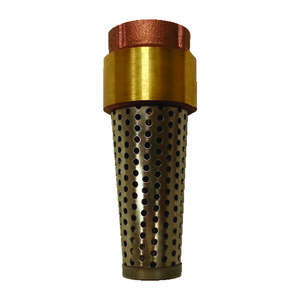 Campbell  Yellow Brass  Spring  Foot Valve