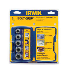 Irwin  Bolt-Grip  Steel  Base Set  5 pc.