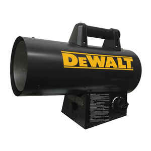 DeWalt  60000 BTU/hr. 1500 sq. ft. Forced Air  Liquid Propane  Portable Heater