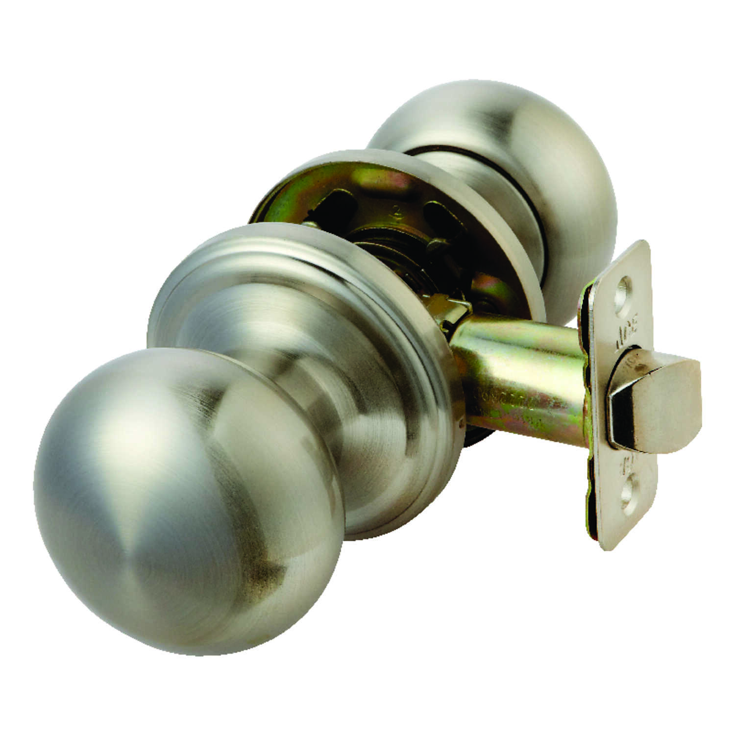 Ace  Colonial  Satin Nickel  Steel  ANSI/BHMA Grade 3  1-3/4 in. Passage Lockset