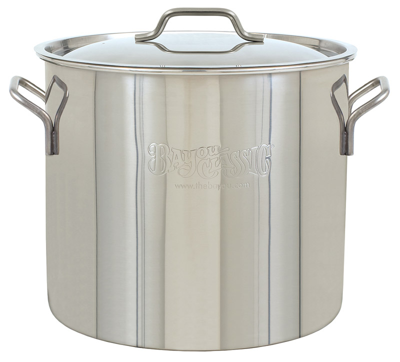 Bayou Classic  Stockpot  Stainless Steel  20 quarts qt.