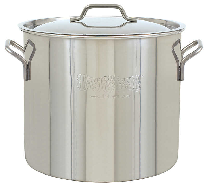 Bayou Classic  Stockpot  Stainless Steel