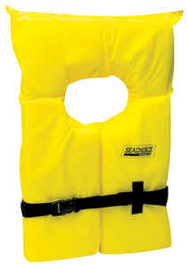 Seachoice  Youth  Yellow  Life Jacket