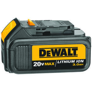 DeWalt  20V MAX  20 volt 3 Ah Lithium-Ion  Battery Pack  1 pc.