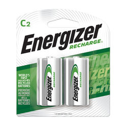 Energizer  Recharge  NiMH  C  1.2 volt Rechargeable Battery  NH35BP-2R2  2 pk