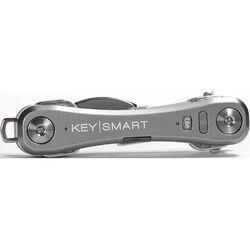 KeySmart  Plastic  Silver  Key Holder