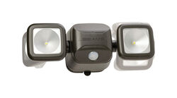 Mr. Beams  High Performance  Motion-Sensing  Battery Powered  LED  Black  Security Light
