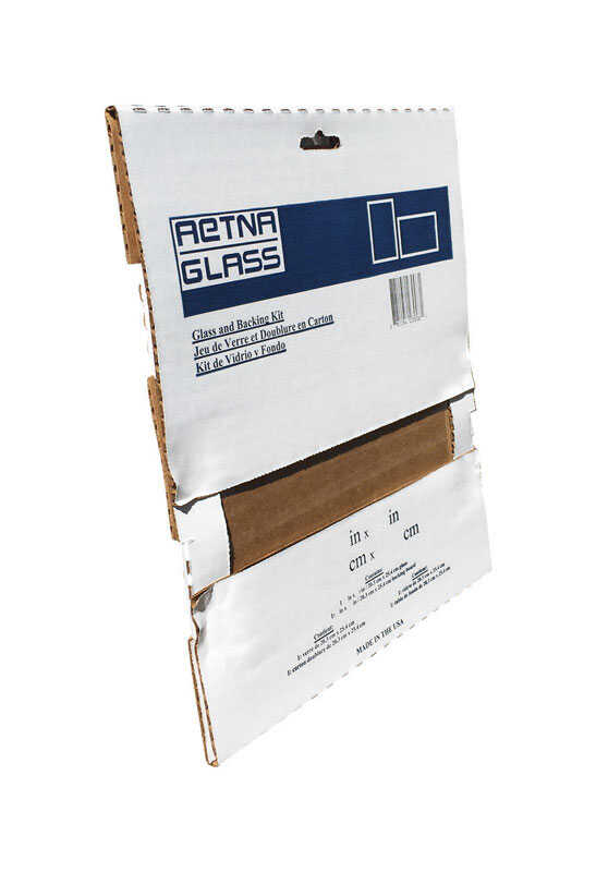 Aetna Glass  Clear  Single  Glass Sheet  16 in. W x 20 in. L x 2.3 mm