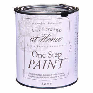 Amy Howard at Home  Flat Chalky Finish  Graphite  Latex  One Step Paint  32 oz.